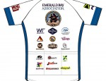 Emerald Bay Cycling Jersey Back