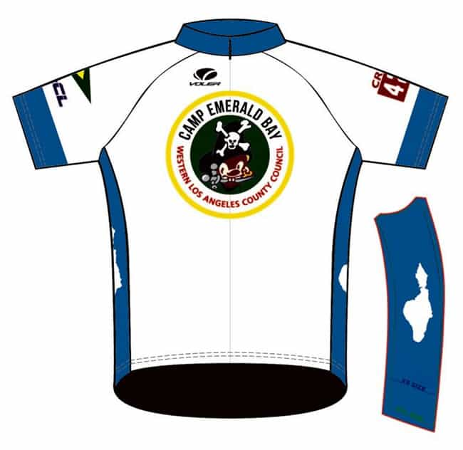 Emerald Bay Cycling Jersey Front